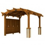 Wood Pergolas from Mirage Pool n spa