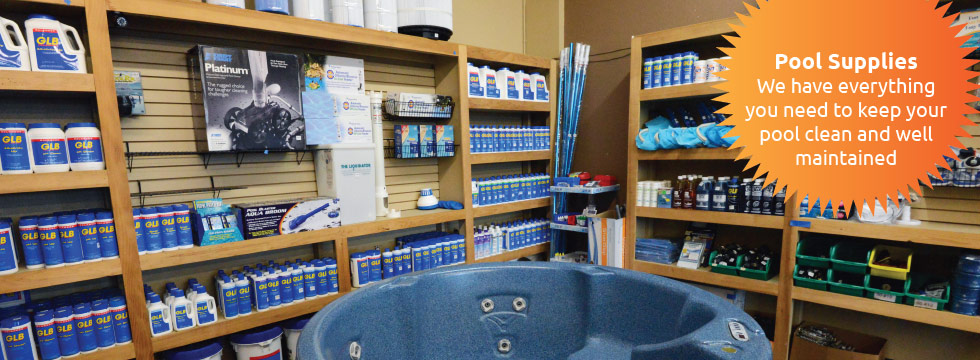 Pool Supplies We have everything you need to keep your pool clean and well maintained